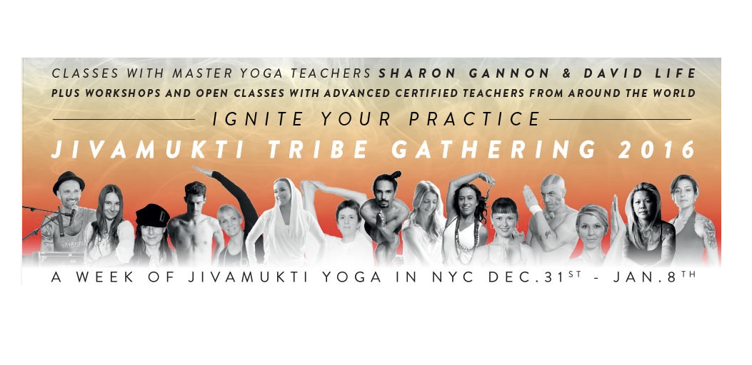 Jivamukti Yoga Tribe Gathering | New York City 31.12.2015 – 8.01.2016